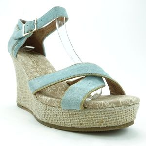 Toms Women Wedge Sandals High Heels Shoes R13S1